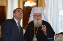 Росен Плевнелиев, патриарх Неофит