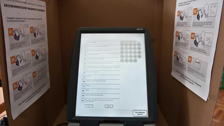машинно гласуване, БГНЕС