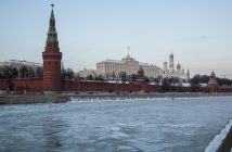 epa05701427 General view of the Moscow Kremlin, Russia, 06 January 2017. According to reports on 06 January 2017, US top intelligence officials are expected to present a classified report to President-elect Donald Trump over the alleged interference of Russia with the US elections in November 2016. The document is said to include details of persons involved in the hacking of Democratic emails and delivering them to the WikiLeaks whistleblower platform.  EPA/SERGEI ILNITSKY