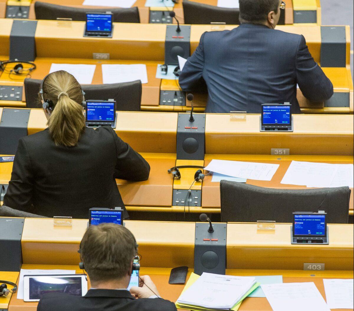 Европейски парламент, Брюксел