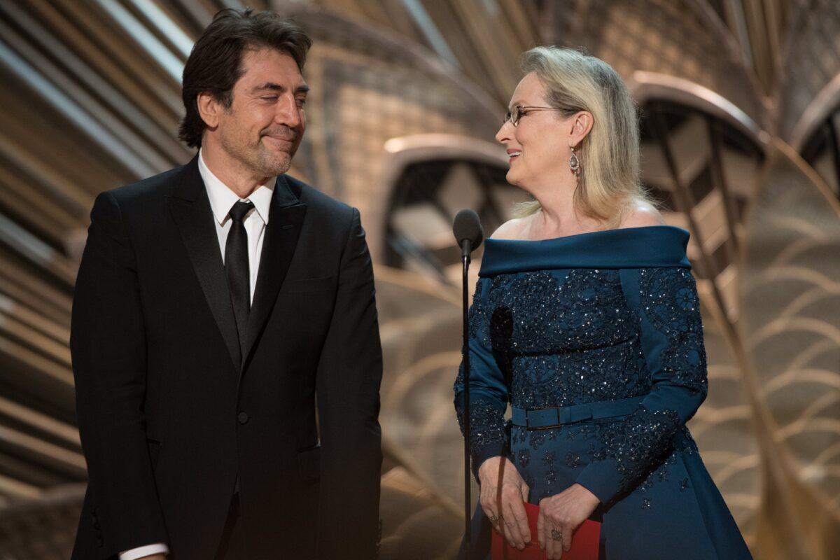 Javier Bardem and Meryl Streep