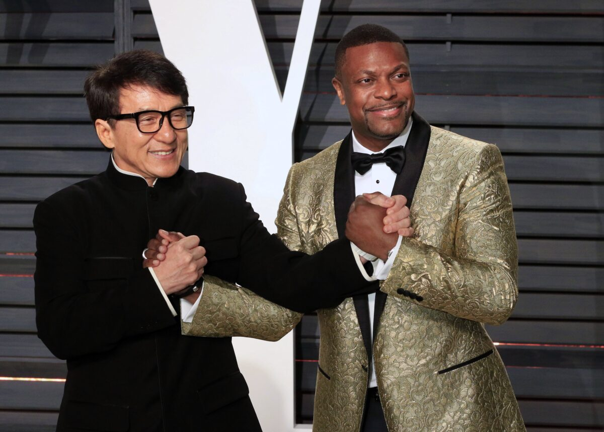Jackie Chan (L) and Chris Tucker (R)