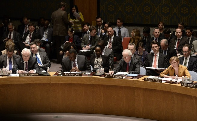 Виталий Чуркин, ООН