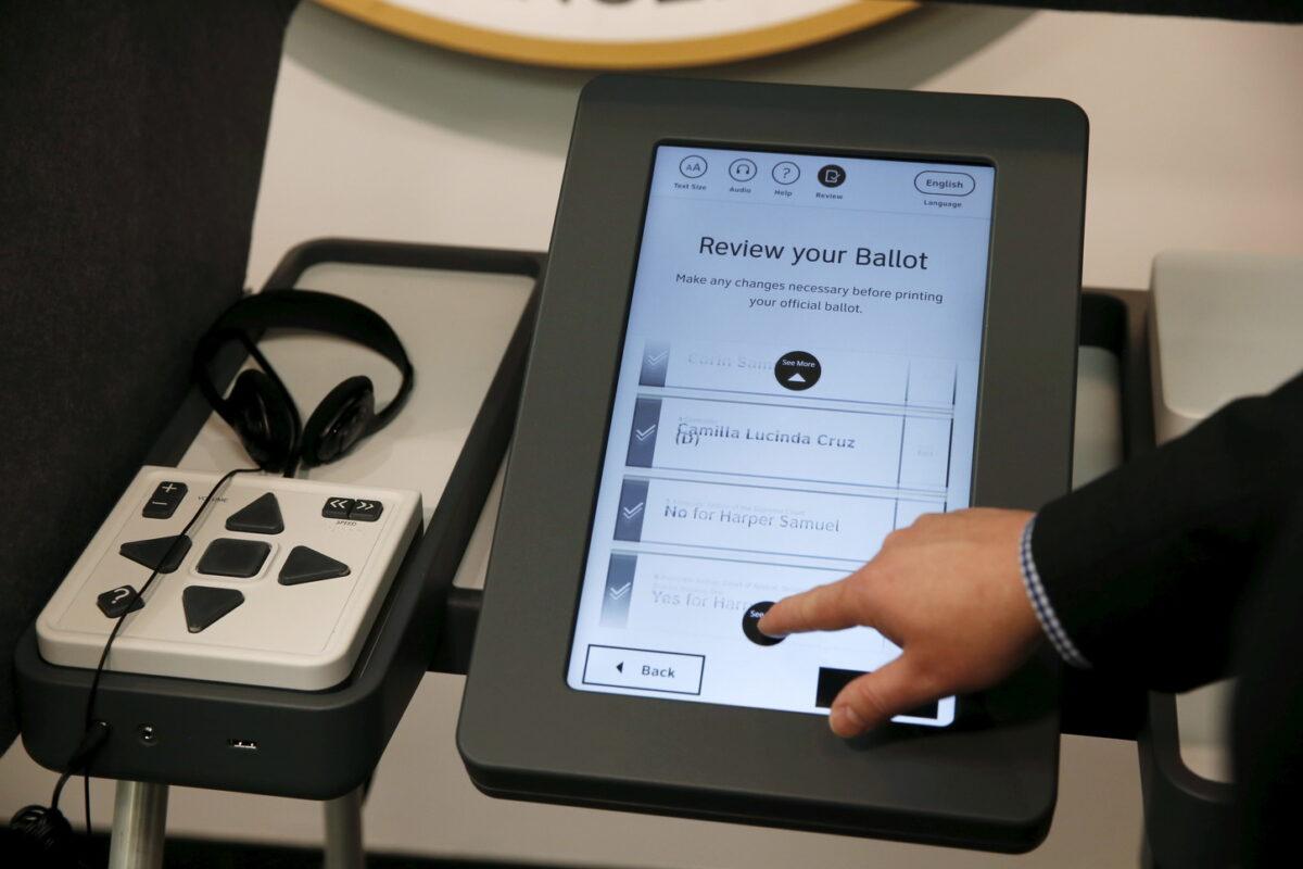 машини гласуване