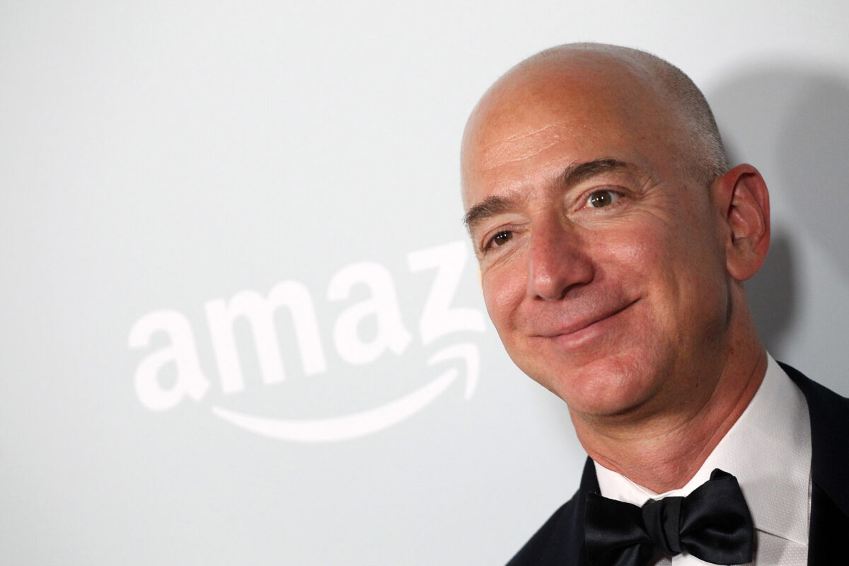 Джеф Безос, 53 години, САЩ. Бизнес: Amazon.com. Състояние: 72,8 млрд. $
