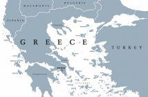 Карта, гърция, Балкани