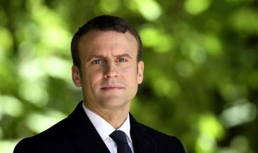 epa05954555 French newly elected President Emmanuel Macron looks on at the Jardins du Luxembourg in Paris, France, 10 May 2017 during a ceremony to mark the anniversary of the abolition of slavery and to pay tribute to the victims of the slave trade.  EPA/ERIC FEFERBERG / POOL