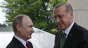 Путин, Ердоган