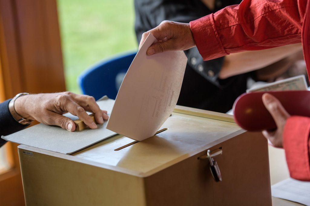 избори, Германия, гласуване