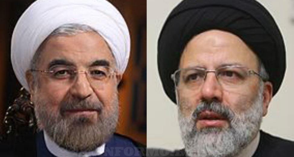 Hassan Rouhani Ebrahim Raisi