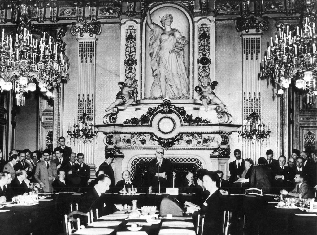 Декларация ''Шуман'', церемония