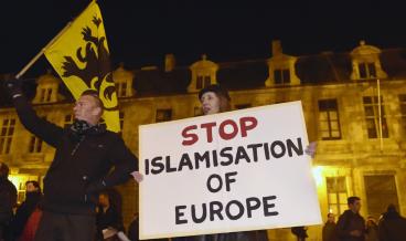 ислямизация стоп против ислям терористи Европа