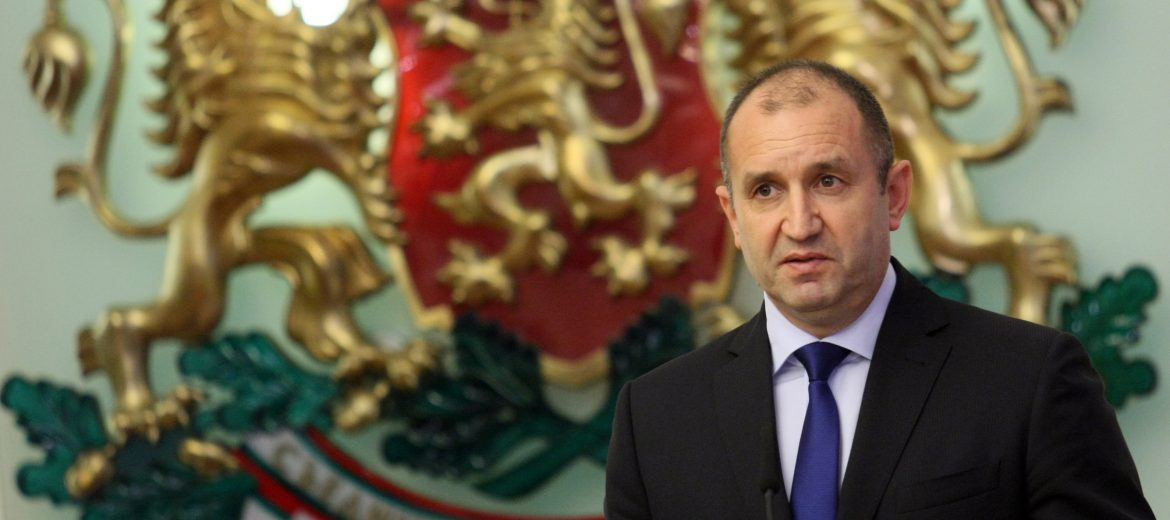 Rumen Radev: I vetoed the Corporate Income Tax Act