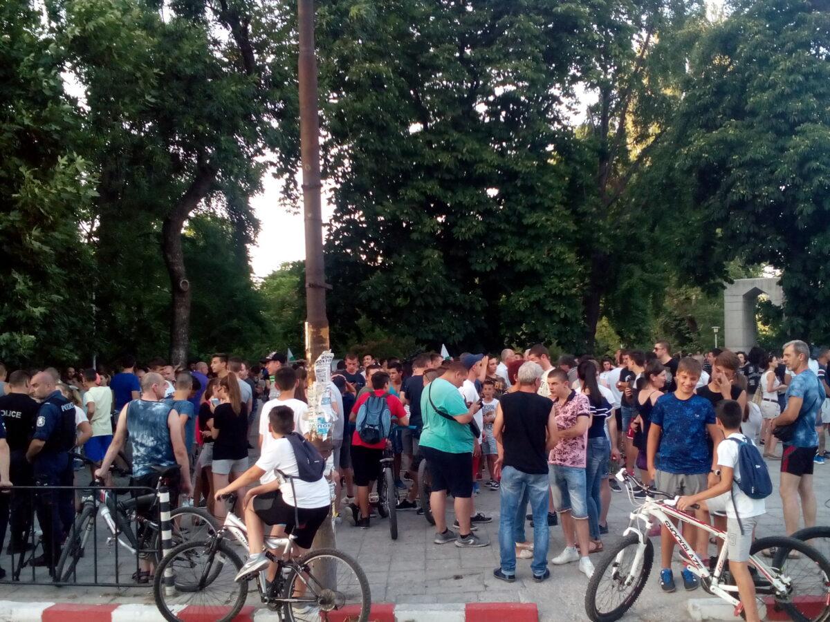 Асеновград, протест, БГНЕС