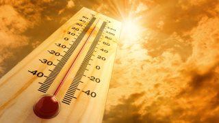 време температура горещо жега високи температури термометър жълт код