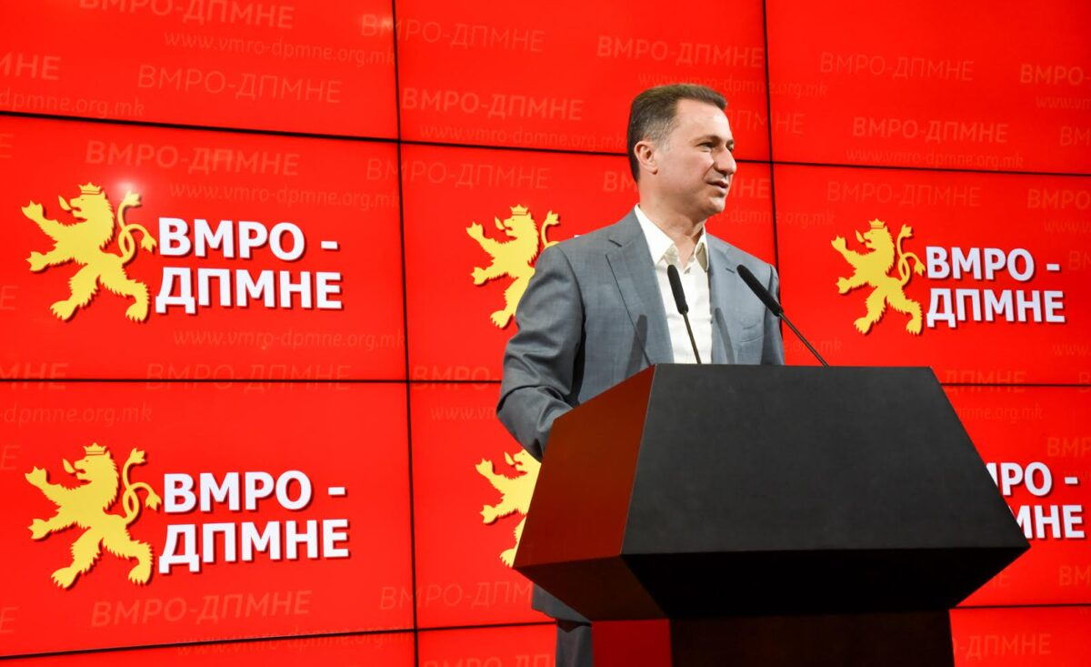 ВМРО-ДПМНЕ, Никола Груевски