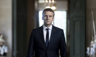 epa06063366 French President Emmanuel Macron walks through the Galerie des Bustes (Busts Gallery) to access the Versailles Palace's hemicycle were he gathered French parliamentarians and senators in order to deliver the main outlines of his policy in Versailles near Paris, France, 03 July 2017. The gathering takes place the day before French Prime Minister Edouard Philippe's general policy speech at the French Parliament.  EPA/ETIENNE LAURENT/POOL MAXPPP OUT
