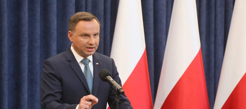 президентът Анджей Дуда снимка: EPA/Pawel Supernak POLAND OUT