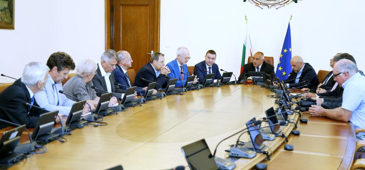 работодатели, среща, Борисов