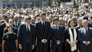 Minute silence to pay tribute to victims a day after attacks in Catalonia