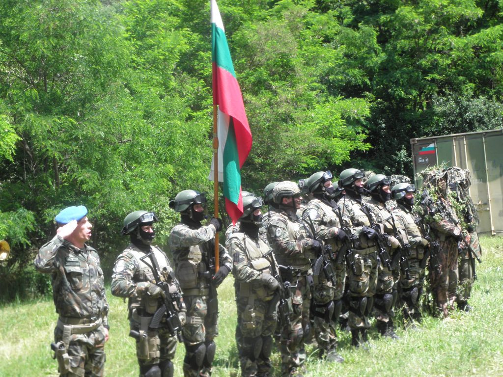 Армия специални части граница