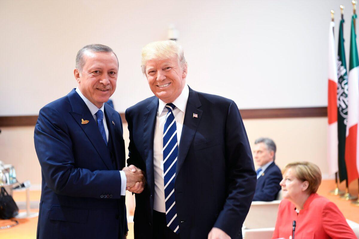 Ердоган Тръмп