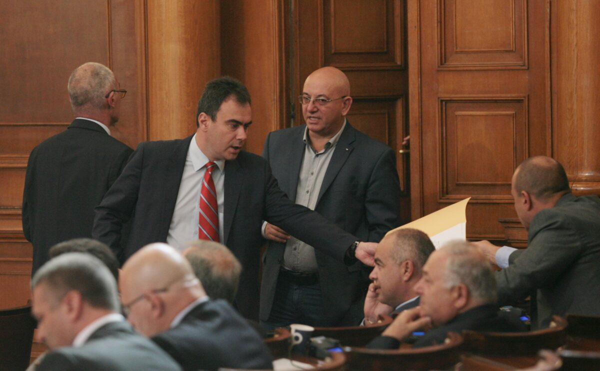 Жельо Бойчев, Емил Димитров, НС, снимка: БГНЕС
