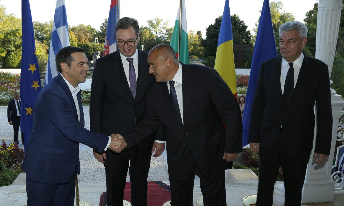 Ципрас Вучич Борисов Тудосе