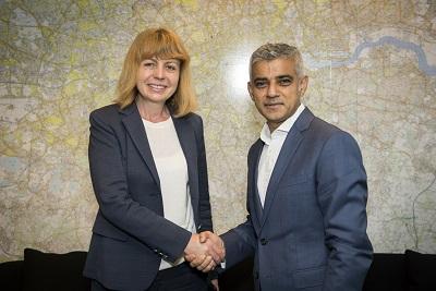 2017-20-10-кмета на Лондон Садик Кан