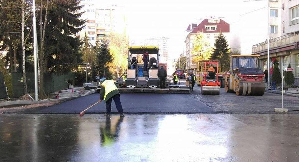 София ремонт улица асфалт