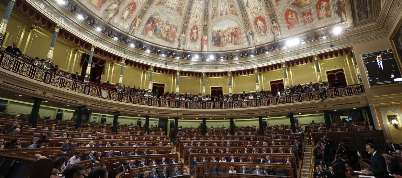 Испански парламент Испания Мариано Рахой