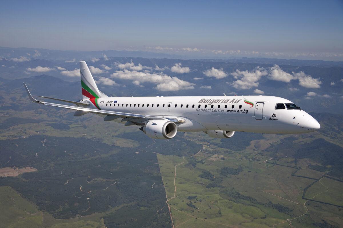 самолет, България Ер