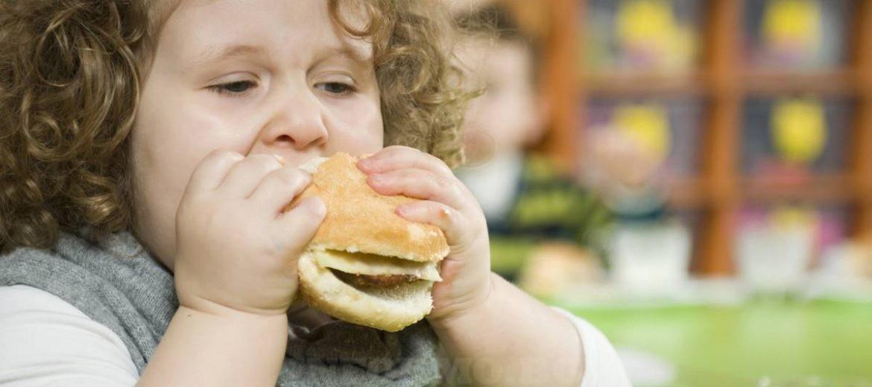 затлъстяване дете
