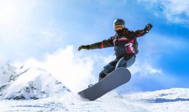 сноуборд, зимен туризъм