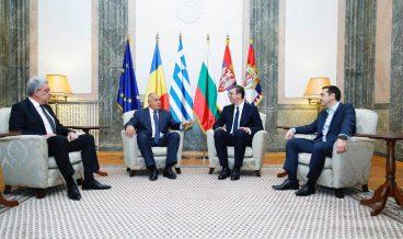 Борисов, Ципрас, Вучич, Тудосе