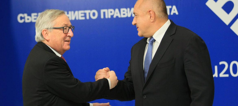 Бойко Борисов и Юнкер