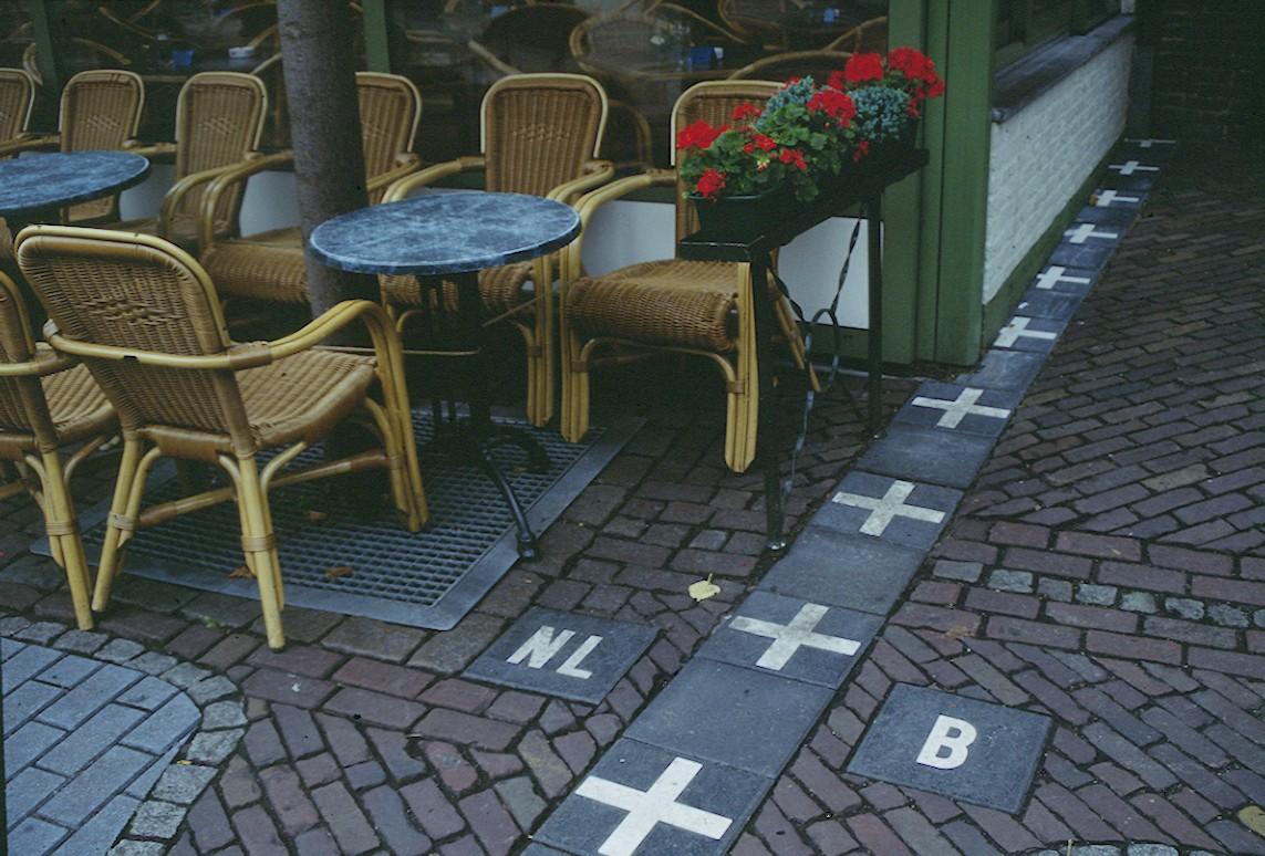 Граница между Белгия и Нидерландия