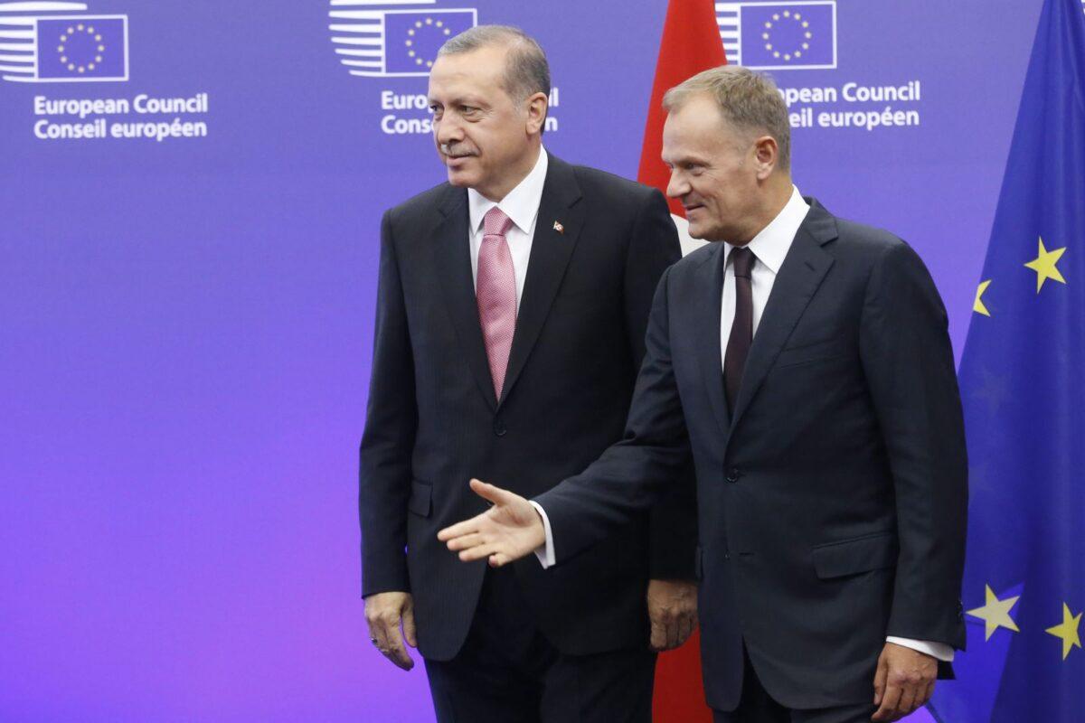 Ердоган и Туск