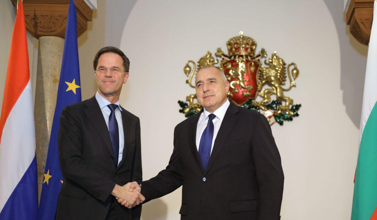Бойко Борисов и Марк Рюте