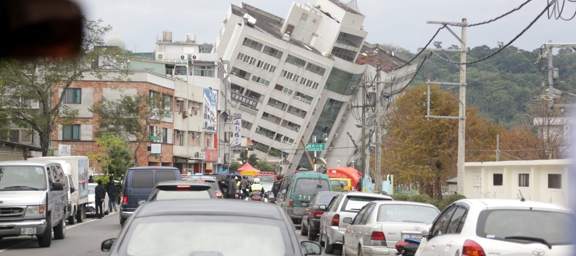 Aftermath of earthquake that hit Taiwan's east coast