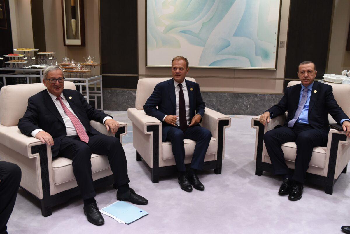 Ердоган, Юнкер, Туск