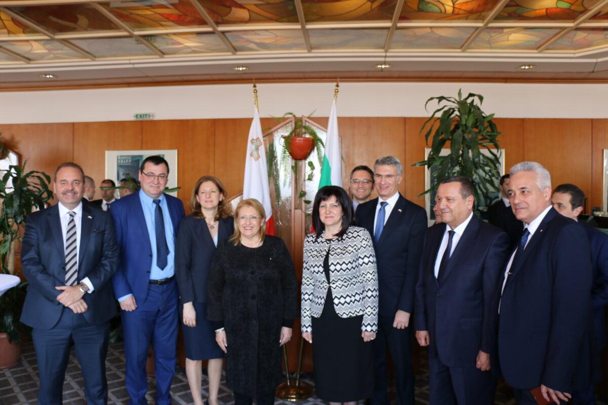 Karayancheva_Malta_President_sreshta_SNIMKA2