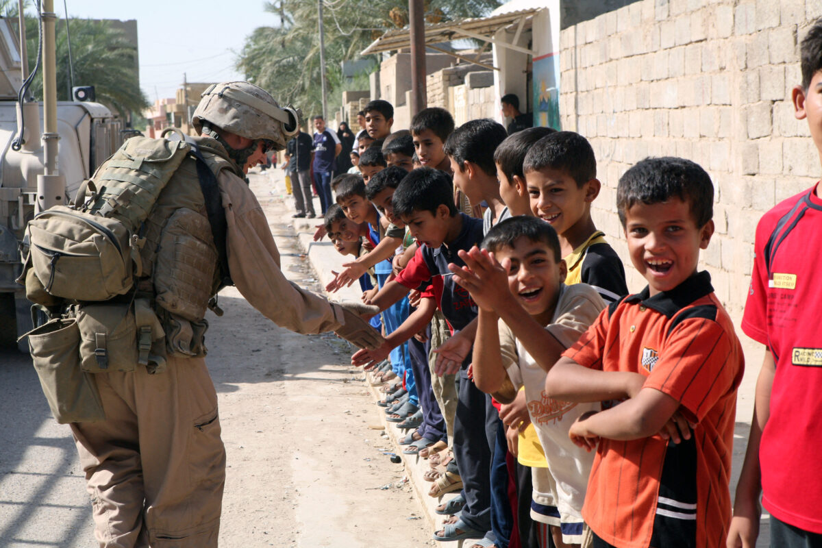 Ирак-война-деца
