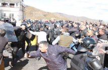 Албания-протест