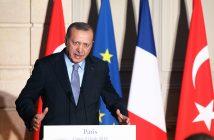 Ердоган Франция