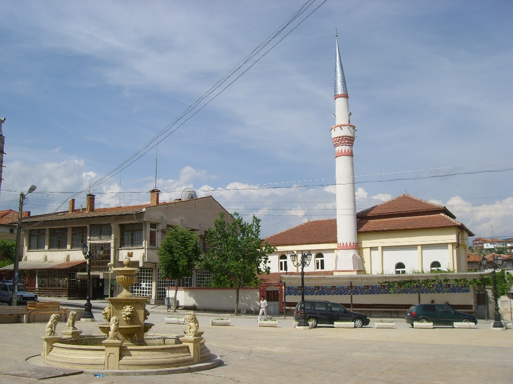 Центъра на с.Абланица. Едно от най-големите българо-мохамедански села в България.
