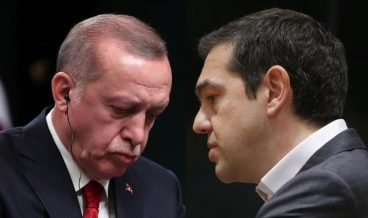 Ердоган и Ципрас, снимка: БГНЕС