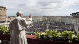 Pope Francis celebrates Easter Sunday mass