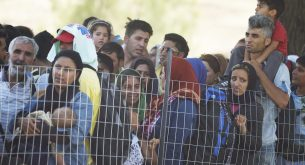 бежанци, мигранти