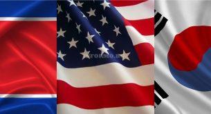Северна Корея - САЩ - Южна Корея